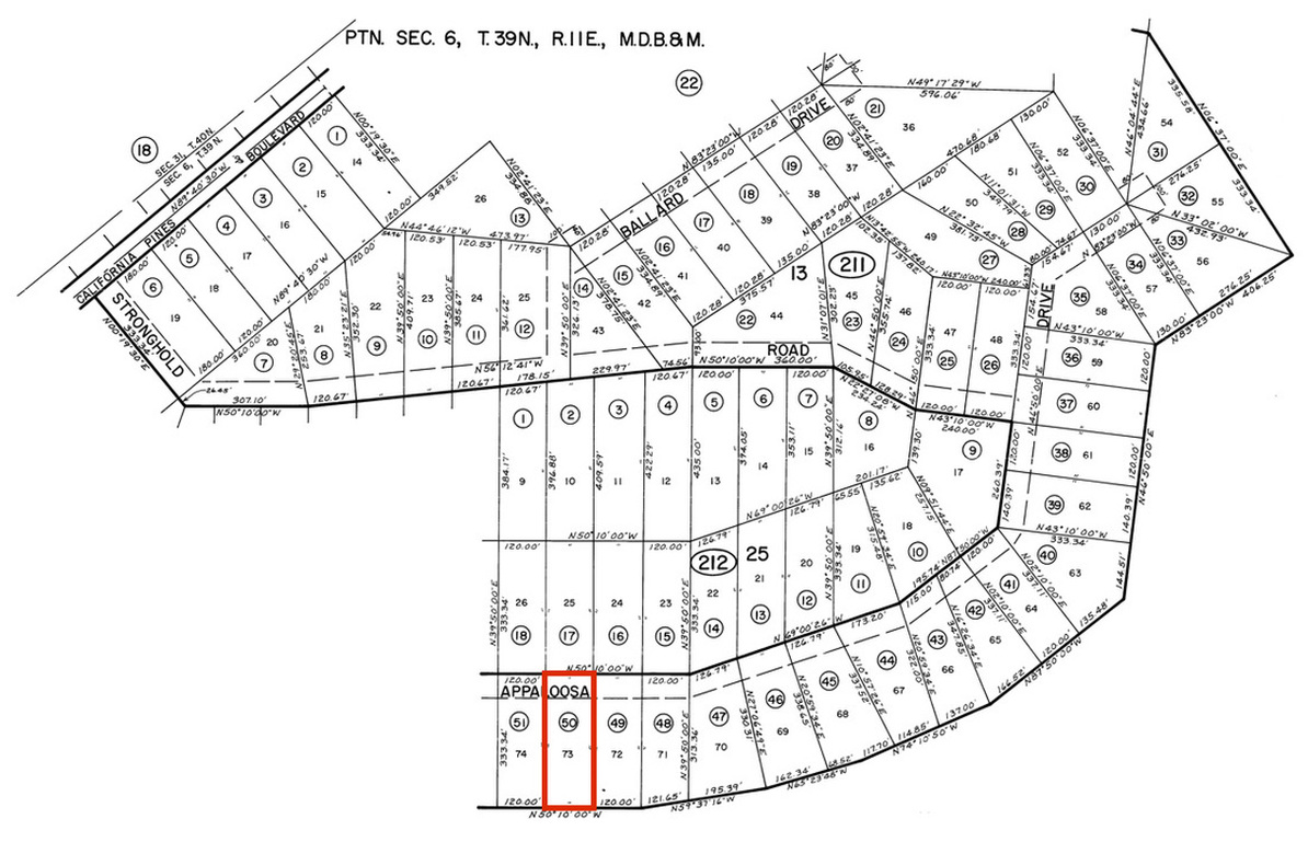 Almost 1 Acre Property with Trees For Sale In Northern