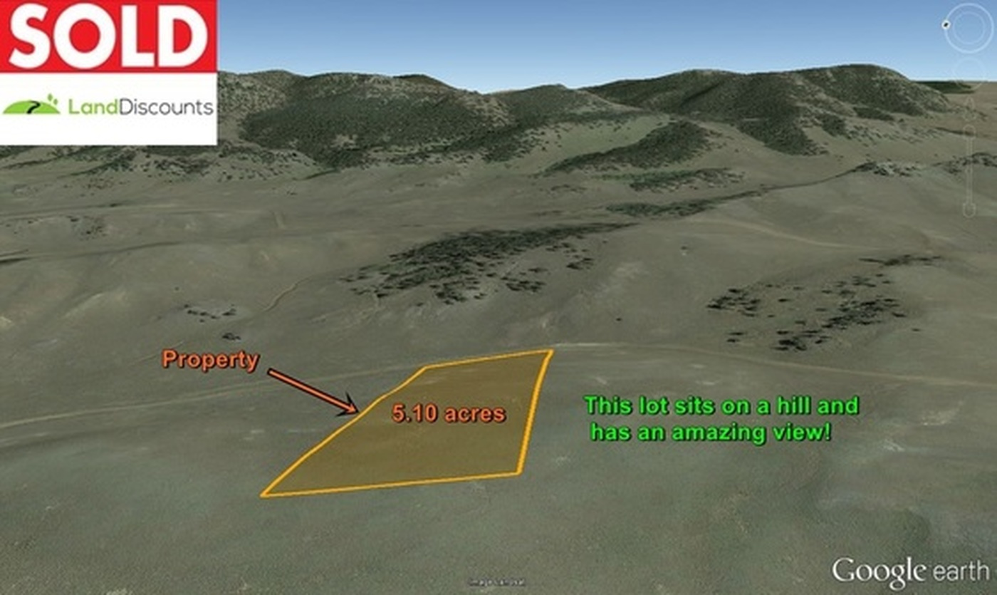 Sold 5.10 vacant lot south of Hartsel, CO